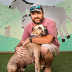 Ryan Moore, Manager of The Animal Care Center of St. John